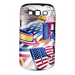 United States Of America Usa  Images Independence Day Samsung Galaxy S III Classic Hardshell Case (PC+Silicone)