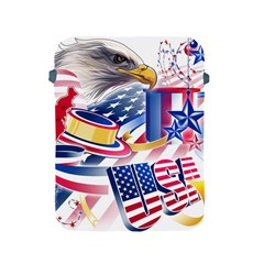 United States Of America Usa  Images Independence Day Apple iPad 2/3/4 Protective Soft Cases