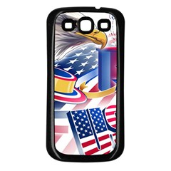 United States Of America Usa  Images Independence Day Samsung Galaxy S3 Back Case (black)