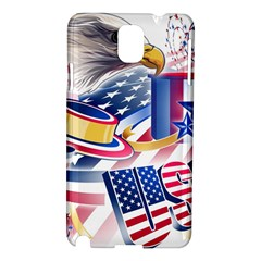 United States Of America Usa  Images Independence Day Samsung Galaxy Note 3 N9005 Hardshell Case