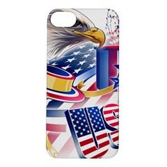 United States Of America Usa  Images Independence Day Apple iPhone 5S/ SE Hardshell Case