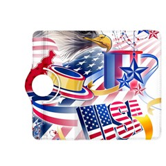 United States Of America Usa  Images Independence Day Kindle Fire Hdx 8 9  Flip 360 Case