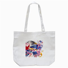United States Of America Usa  Images Independence Day Tote Bag (white)