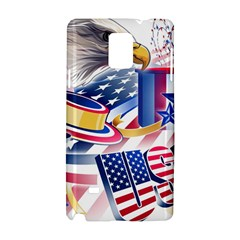 United States Of America Usa  Images Independence Day Samsung Galaxy Note 4 Hardshell Case