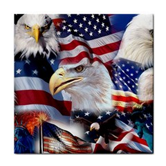 United States Of America Images Independence Day Tile Coasters