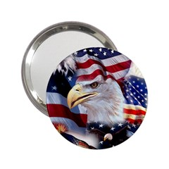 United States Of America Images Independence Day 2.25  Handbag Mirrors