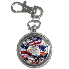 United States Of America Images Independence Day Key Chain Watches