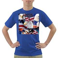 United States Of America Images Independence Day Dark T-Shirt