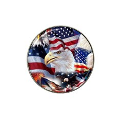 United States Of America Images Independence Day Hat Clip Ball Marker