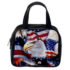 United States Of America Images Independence Day Classic Handbags (One Side)
