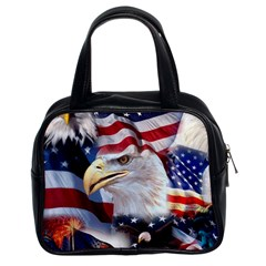 United States Of America Images Independence Day Classic Handbags (2 Sides)