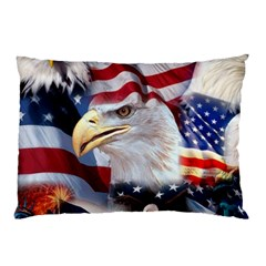 United States Of America Images Independence Day Pillow Case