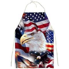 United States Of America Images Independence Day Full Print Aprons