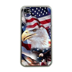 United States Of America Images Independence Day Apple iPhone 4 Case (Clear)