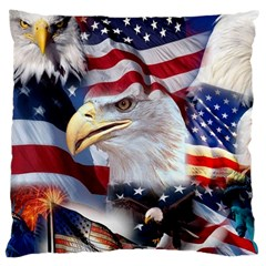 United States Of America Images Independence Day Large Cushion Case (One Side)