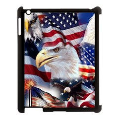 United States Of America Images Independence Day Apple iPad 3/4 Case (Black)
