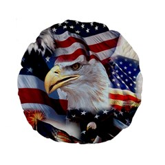 United States Of America Images Independence Day Standard 15  Premium Round Cushions