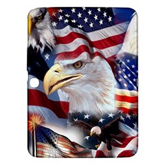 United States Of America Images Independence Day Samsung Galaxy Tab 3 (10.1 ) P5200 Hardshell Case