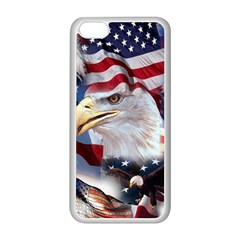 United States Of America Images Independence Day Apple iPhone 5C Seamless Case (White)