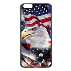 United States Of America Images Independence Day Apple iPhone 6 Plus/6S Plus Black Enamel Case