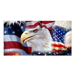 United States Of America Images Independence Day Satin Shawl