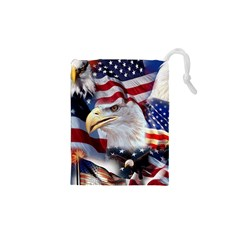 United States Of America Images Independence Day Drawstring Pouches (xs)