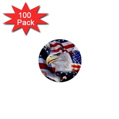 United States Of America Images Independence Day 1  Mini Buttons (100 Pack)