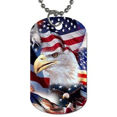 United States Of America Images Independence Day Dog Tag (One Side)