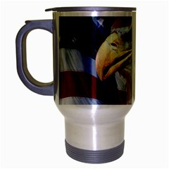 United States Of America Images Independence Day Travel Mug (Silver Gray)