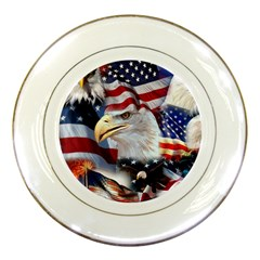 United States Of America Images Independence Day Porcelain Plates