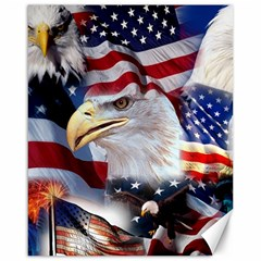 United States Of America Images Independence Day Canvas 16  x 20