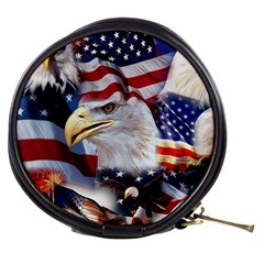 United States Of America Images Independence Day Mini Makeup Bags