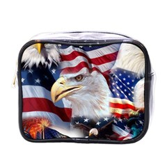 United States Of America Images Independence Day Mini Toiletries Bags