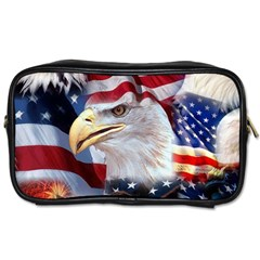 United States Of America Images Independence Day Toiletries Bags 2-Side