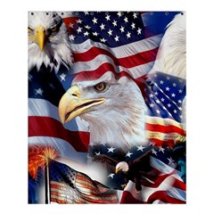 United States Of America Images Independence Day Shower Curtain 60  x 72  (Medium)