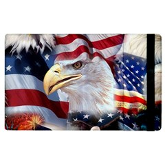 United States Of America Images Independence Day Apple iPad 3/4 Flip Case