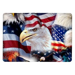 United States Of America Images Independence Day Samsung Galaxy Tab 10 1  P7500 Flip Case