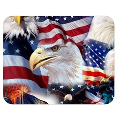United States Of America Images Independence Day Double Sided Flano Blanket (Medium)