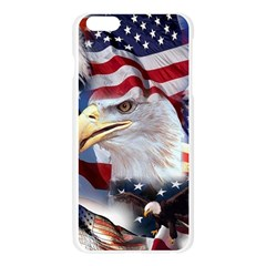 United States Of America Images Independence Day Apple Seamless iPhone 6 Plus/6S Plus Case (Transparent)
