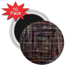 Unique Pattern 2.25  Magnets (10 pack)