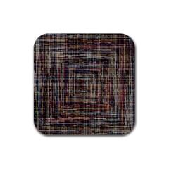 Unique Pattern Rubber Coaster (square)
