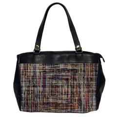Unique Pattern Office Handbags (2 Sides)
