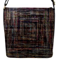 Unique Pattern Flap Messenger Bag (S)