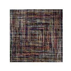 Unique Pattern Small Satin Scarf (Square)