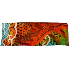 The Beautiful Of Art Indonesian Batik Pattern Body Pillow Case (dakimakura)