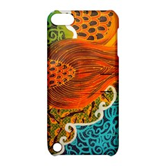 The Beautiful Of Art Indonesian Batik Pattern Apple iPod Touch 5 Hardshell Case with Stand