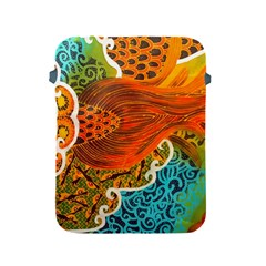 The Beautiful Of Art Indonesian Batik Pattern Apple iPad 2/3/4 Protective Soft Cases