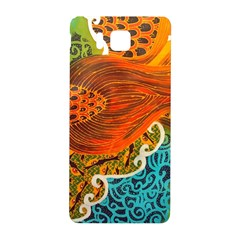The Beautiful Of Art Indonesian Batik Pattern Samsung Galaxy Alpha Hardshell Back Case