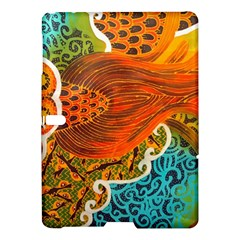 The Beautiful Of Art Indonesian Batik Pattern Samsung Galaxy Tab S (10.5 ) Hardshell Case
