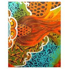 The Beautiful Of Art Indonesian Batik Pattern Drawstring Bag (Small)